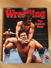 WRESTLING THE GREATEST STARS VINTAGE 1987 HARDCOVER BOOK