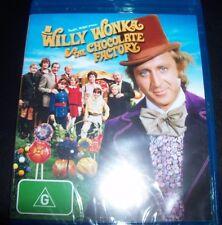 Willy Wonka And The Chocolate Factory (Australia Region B) Bluray  – New