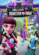 MONSTER HIGH WELCOME TO MONSTER HIGH GWP/UV  DVD NUEVO