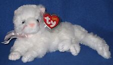 TY BIANCA the WHITE CAT BEANIE BABY - ORIGINAL VERSION - MINT TAGS - PLEASE READ