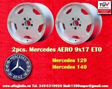 2 pcs. Mercedes W 129 140 AMG Aero Design Felge 9x17 ET0 Lk. 5x112 cerchi wheels