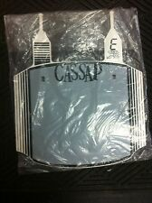 Old School BMX SYSTEM SERIES 3 PLATE  GREY/WHITE. (NOS)