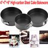"4/7/9"" Non Stick Cake Tier Mold Baking Pan Tray Spring Form Round Bakeware Tool"