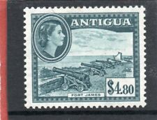 Antigua QE2 1953-62 $4.80 slate-blue sg 134 HH.Mint