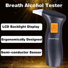 Electronic Digital Breath Alcohol Tester LCD Breathalyzer Analyzer Detector