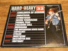 Various – HARD & HEAVY 32 - CHILDREN OF BODOM ! RARE CD FRANCE