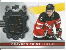 2017-18 Brayden Point Heir To The Ice Canadian Tire Short Print SP Card #142