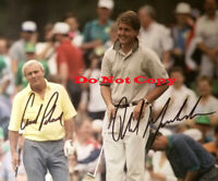 Arnold Palmer & Phil Mickelson Dual Signed 8x10 Photo Reprint