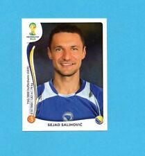 BRASILE 2014-PANINI-Figurina n.445-SALIHOVIC'-BOSNA/HERCEGOVINA-NEW BLACK BACK