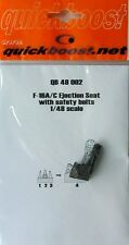 Quickboost 1/48  F-16A/C Ejection Seat with Safety Belts # 48002