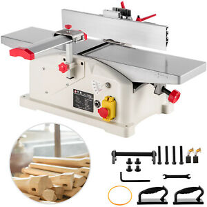 VEVOR Jointer Planer 6 Inch Benchtop Jointer for Wood Cutting AU Stock