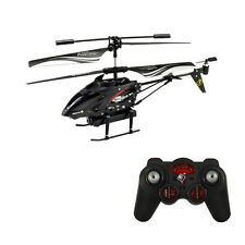 S977 3.5CH radio remote control RC metal gyro helicopter + camera airplane Gift