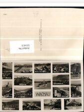 511413,Wachau Rossatz Mautern Dürnstein Krems Melk Spitz Mehrbildkarte