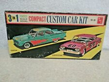 AMT 1960 Mercury Comet Model Box Only.  Very Rare Fair Condition For Its Age