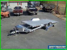 aluma 8218 power Tilt carhauler trailer equipment electric tilt 7 x 18 aluminum