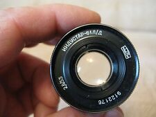INDUSTAR 61 L/D 2,8/55 Russian Lens screw M39 Leica with serial number # 9122176