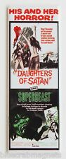 Daughters of Satan & Superbeast FRIDGE MAGNET insert movie poster double feature