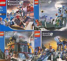 LEGO Ritter - Bauanleitungen 8779, 8801, 8801, 8822 NEUWARE