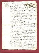 Stati Estensi 1826- Sentenza Corte d'Appello Tribunale di Giustizia in Modena