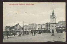Kent MARGATE Clock Tower & Marine Drive PPC tram #22