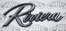 1979-1985 Buick Riviera Chrome Monogram | Script | OEM #1261160 | RM795