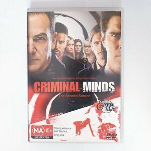Criminal Minds Season 2 TV Series DVD Region 4 AUS Free Postage