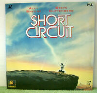 Short Circuit (1986) PAL Laser Disc, Comedy Film, Ally Sheedy [EE1125]