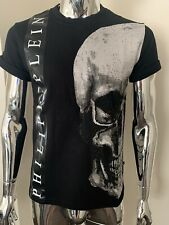 Philipp Plein Nvudo Small Black SS Crystal T-Shirt Genuine BNWT