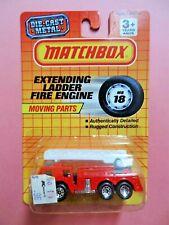Matchbox  #MB 18 Extending Ladder Fire Engine