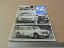 USO MANUTENZIONE ORIGINALE BRITISH MOTOR MINI 1968 MARK II FRANCESE GARAGE ELOY