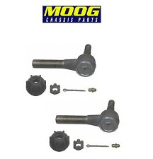 For Cadillac Pontiac Set of 2 Front Outer Steering Tie Rod Ends Moog ES314RL