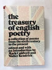 The Treasury of English Poetry Edited Caldwell / Kendrick 1984 (HC)-Fair