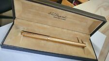 S.T. Dupont Classiques, Gold filled wave pattern, Rollerball Pen