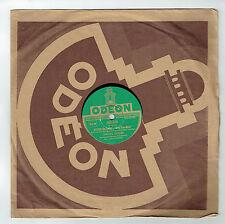 78T Marcel MERKES & P. MERVAL Disque Phonographe ROSE-MARIE Chanté ODEON 282226