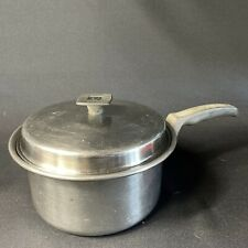 New listing Pluramelt Flavorseal by Cory Zirconium & Stainless Steel With Lid 3 Qt. Saucepan