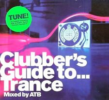CLUBBERS GUIDE TO TRANCE CD - MIXED BY ATB - 2 X CDS IBIZA TRANCE CDJ CD DJ