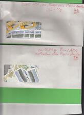 Bund Automatenmarken papierlos in zwei Umschlägen stampsdealer
