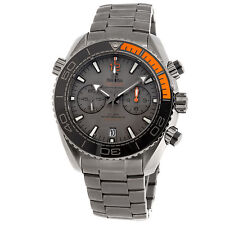 Omega Planet Ocean Chronograph 215.90.46.51.99.001 Auto Titanium Mens Watch Date