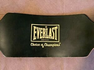 "Everlast Model 1013 Black Leather Weight Lifting Belt Size XS-Small 22"" - 30"""