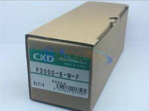 1PCS New CKD Solenoid Valve F3000-8-W-F Filter
