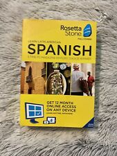 Rosetta Stone: Learn Spanish (Latin America) for 12 months-New Factory Sealed