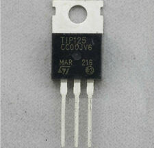 5pcs TIP125 Transistor TO-220 ST New