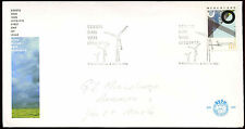 Netherlands 1986 William Test Station FDC First Day Cover #C27884