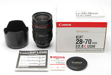 Exc+5 in BOX Canon EF 28-70mm f/2.8 USM L Zoom AF Lens w/Hood from Japan