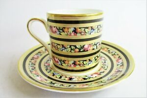 Rare Wedgwood Clio Coffee Can/Cup and Saucer.