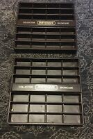 Lot 2 VTG 1978 MATCHBOX COLLECTORS SHOWCASE HOLDS 24 CARS EASEL or WALL DISPLAY