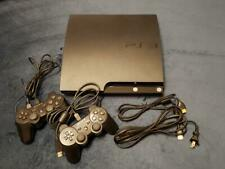 Play Station 3 black SONY CECH-2000A main unit two controllers USB AV cables