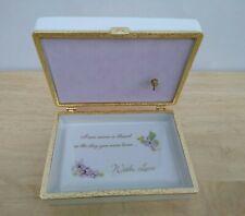 Ardleigh Elliott Dear GrandDaughter Porcelain Music Box You Are So Beautiful
