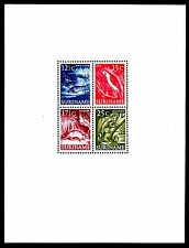 Suriname - 1953 Definitives views / animals - Mi. Bl. 1 MH