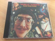 WEIRD AL YANKOVIC DARE TO BE STUPID (USA 1990) CD ALBUM MB9